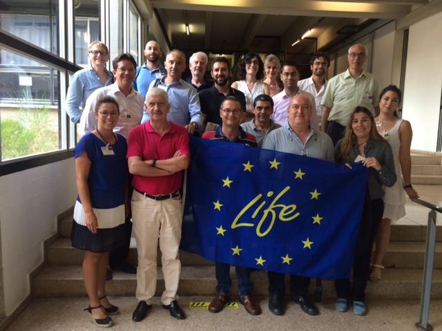 El pasado 12 y 13 de julio se celebró el lanzamiento del projecto LIFE The Green Link.