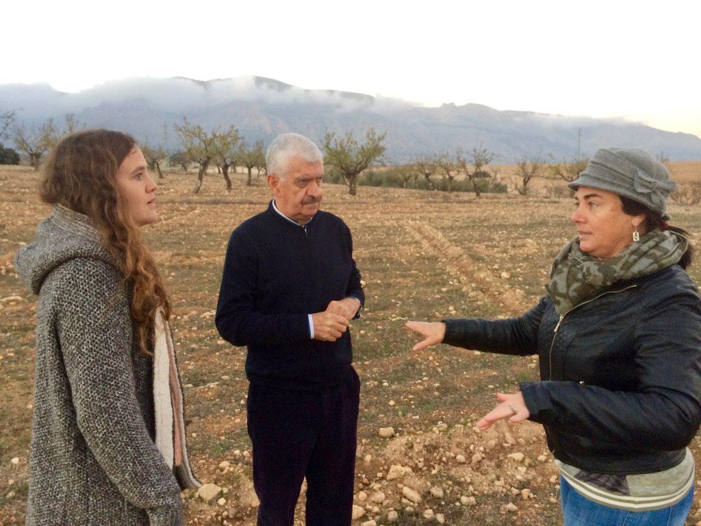 Pulse sobre la imagen para ver los artículos sobre las acciones en Almería.
