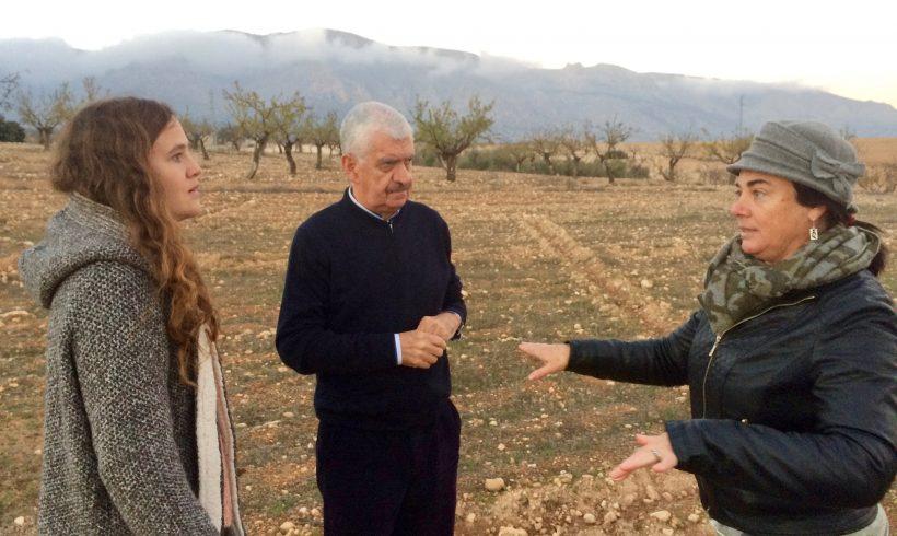 Visita a la zona demostrativa en Almería