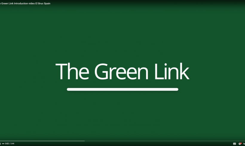 First video The Green Link: explanation of the Cocoon and Sensoterra