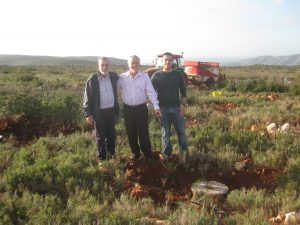 The mayor of Tous underlined the importance of a diverse and species-rich vegetation.