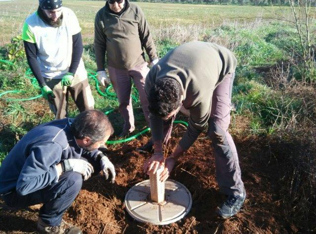 El proyecto planta especies autóctonas para aumentar la biodiversidad y frenar la erosión y la degradación del suelo.