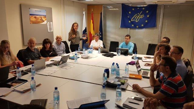 Reunión oficial de monitoreo con los expertos de EASME y NEEMO