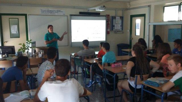 Local awareness in Almería with the Velez Rubio school