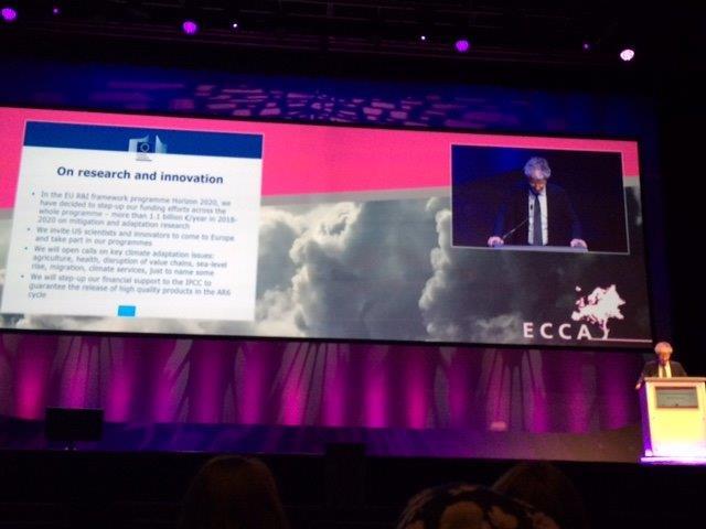 Volterra participa en la conferencia internacional sobre la Adaptación al Cambio Climático en Glasgow