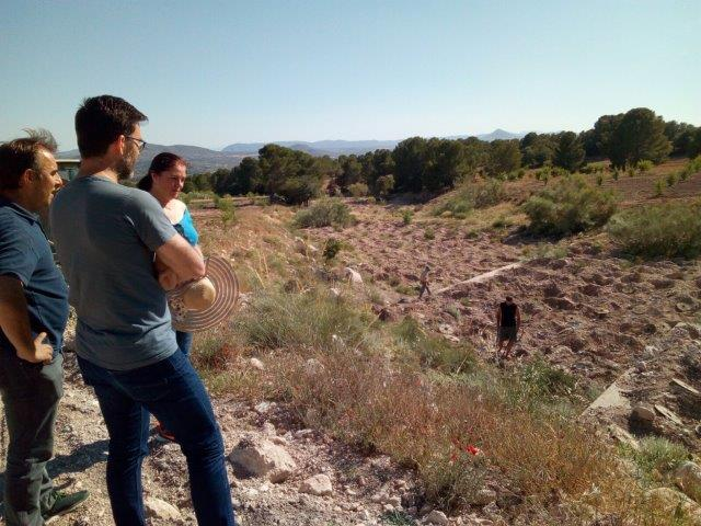 Visit of the Company Patagonia to the demonstration area of Almería