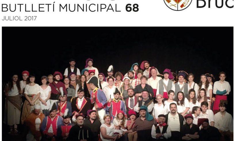 El boletín informativo Municipal de El Bruc Nº68 comenta nuestro proyecto