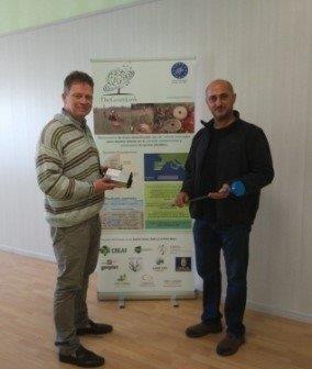 Reunión sobre Sensoterra en la oficina de Land Life Company en Ámsterdam