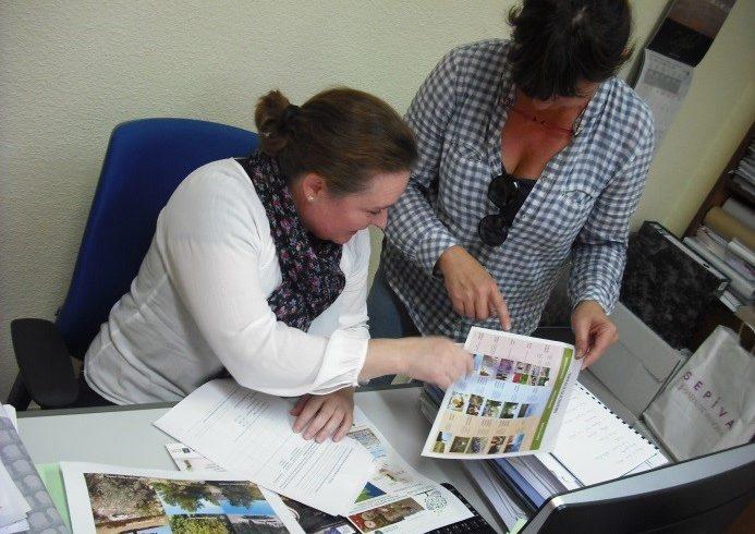 Actividad de sensibilización y realización de encuestas en el área demostrativa de Valencia
