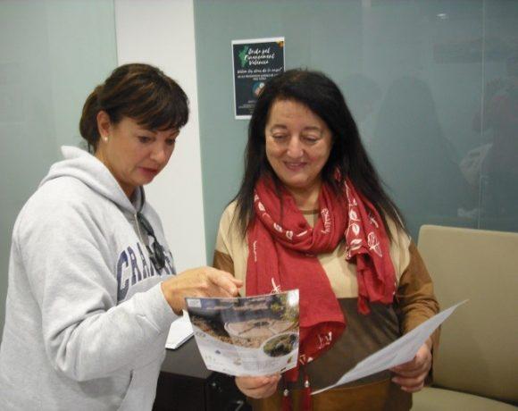CSIC-CIDE visita a la concejal de medio ambiente en Jijona, Alicante