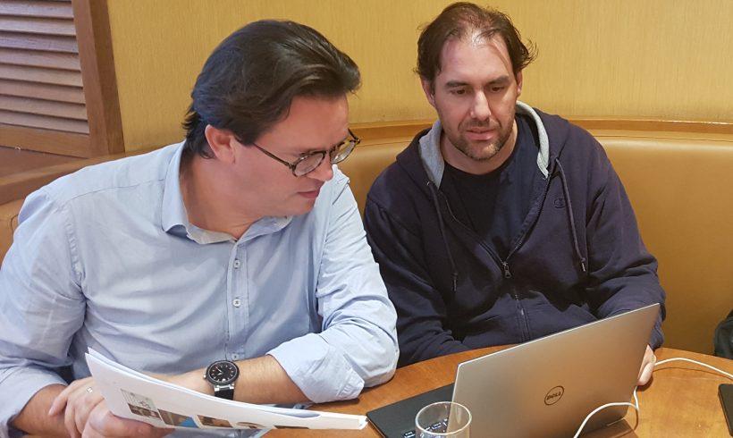 Nueva reunión técnica entre Volterra  y Landlife company