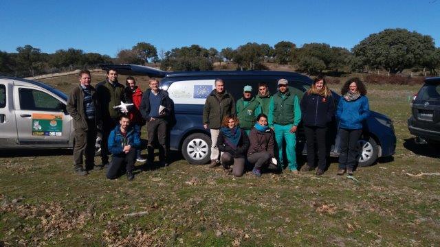 Visit of Land Life Company and Volterra to Campanarios de Azaba of Fundacion Naturaleza y Hombre