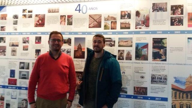 Replicación con la Fundación Santa María La Real en Aguilar de Campoo