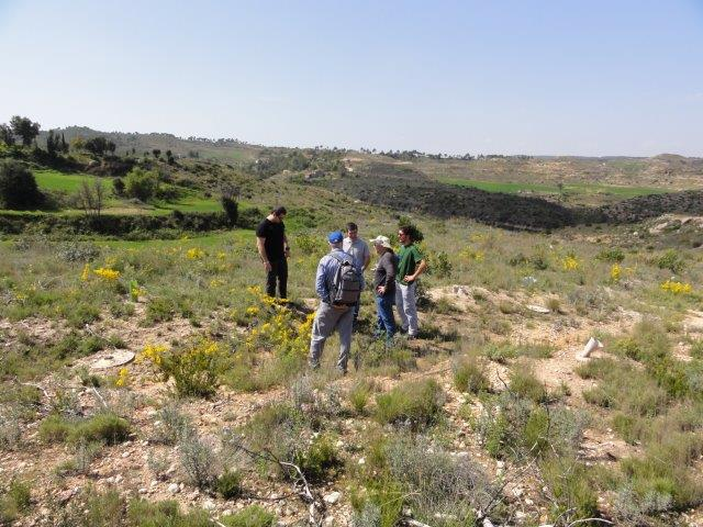 Visit of UAB students to the restored area in El Bruc
