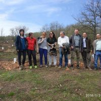 The forestry departments of the Junta of Castilla y Leon in Valladolid and in Palencia visit the plantation in Matamorisca (Palencia)