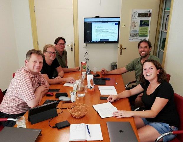 Reunión técnica entre Volterra y LLC en Amsterdam
