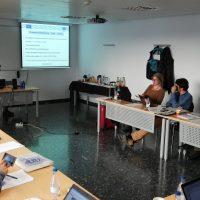 Hoy estamos celebrando la 6ta reunión oficial del proyecto en Valencia