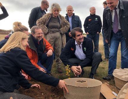 Fomento y Medio Ambiente asiste al evento de inauguración en Matamorisca