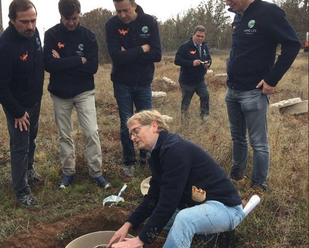 Sí, trabajamos en el campo! Gracias por el apoyo de la Embajada de los Países Bajos