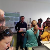 Visit of students to CIDE-CSIC facilities