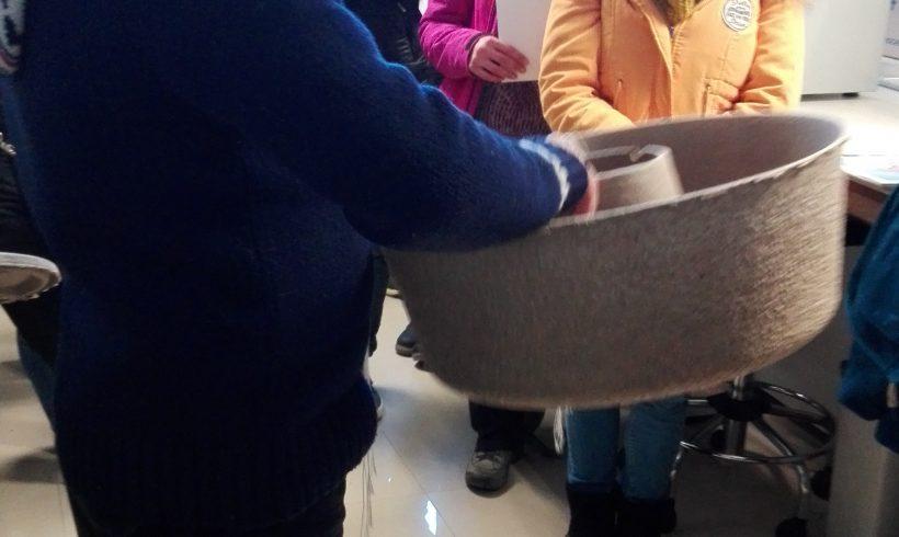 Visita de estudiantes de secundaria a las instalaciones del CIDE-CSIC