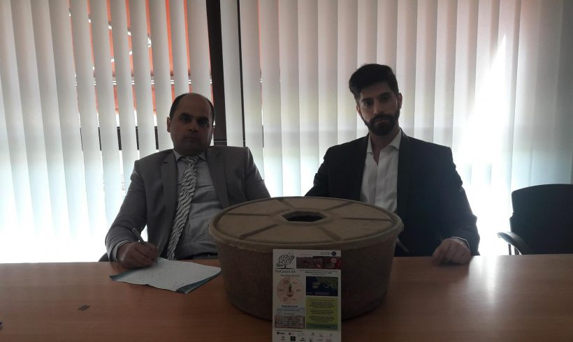 Business visit from Iran to Biopoplar in Italy