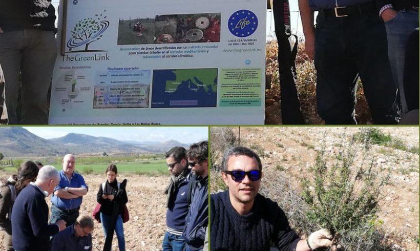 Visita de monitoreo y control en Almería