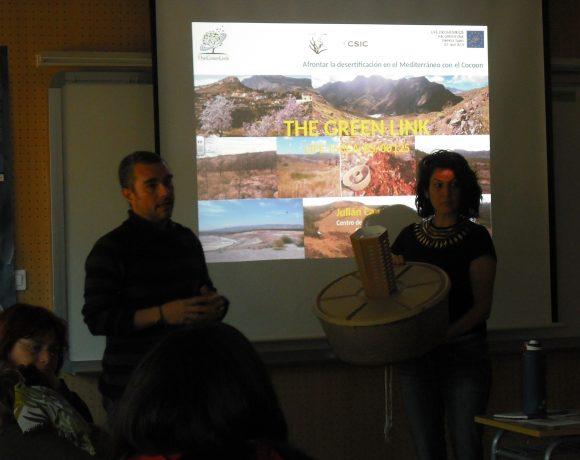 Afrontar la desertificación en el Mediterráneo con el Cocoon