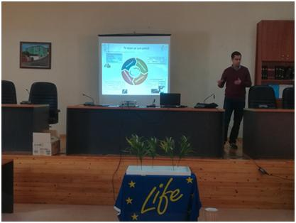 Participación en el taller en el marco del proyecto LIFE16 CCM / GR / 000044 BIOMASA C +: Posibilidades y perspectivas de utilización de la biomasa en Amynteo