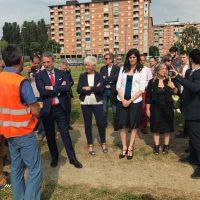 campo replica di Life-The Green Link realizzato a Torino