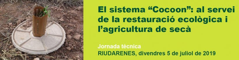 """The """"Cocoon"""" system: the service of ecological restoration and agriculture."""