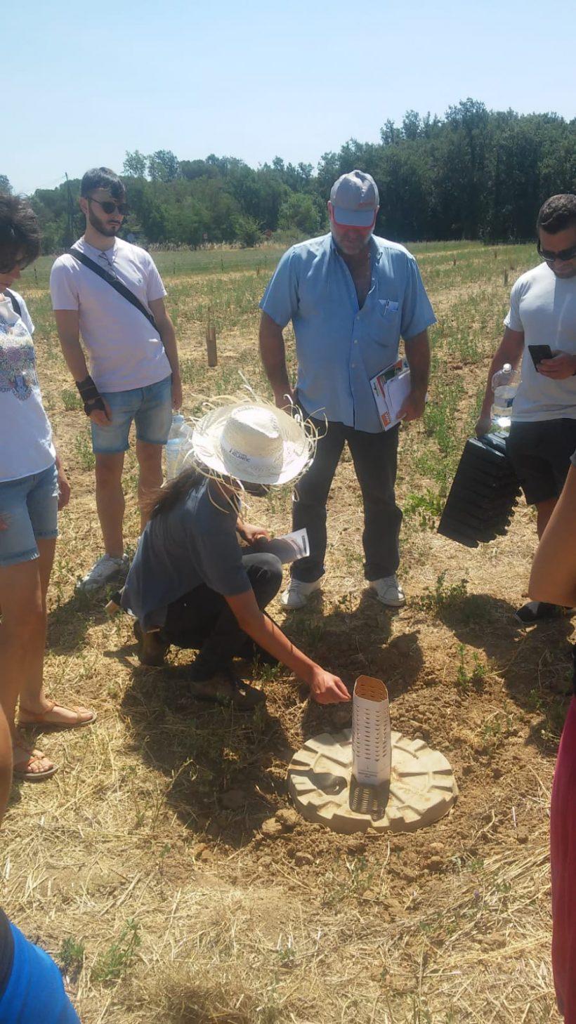 Exitosa jornada demostrativa en finca de Can Moragues