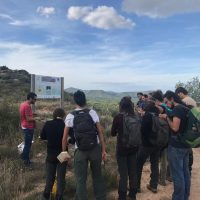 Visit of the students of the Master in Natural Systems Management of AgroParisTech