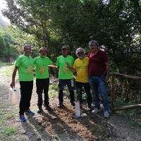 Il secondo appuntamento con l'Ing. Pirrera per piantare alberi sul percorso dell'antica Trasversale Sicula