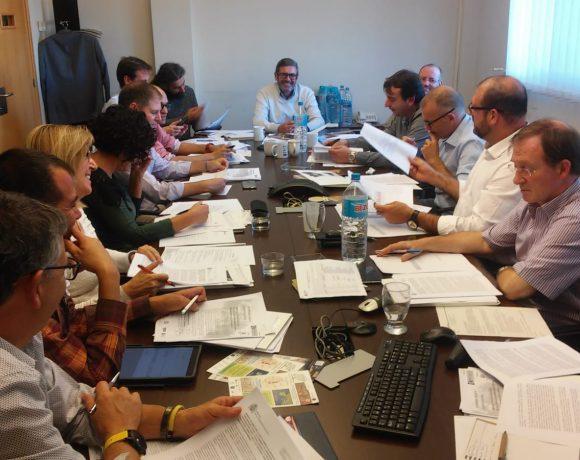 Presentación del proyecto The Green Link al Comité Técnico del Gremi d'Àrids de Catalunya