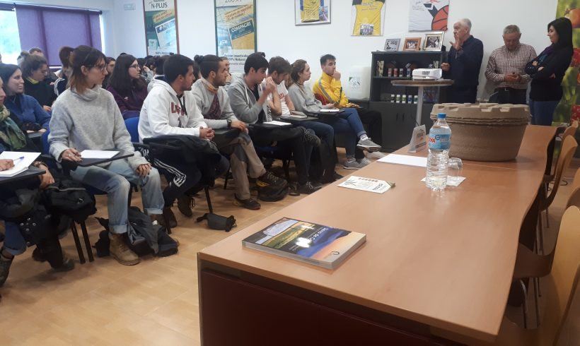 Visit of the students of the Biology Degree of the Autonomous University of Madrid