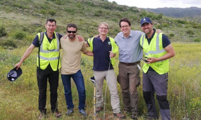 Volterra, Land Life Company and CREAF monitor the last plantation with biochar