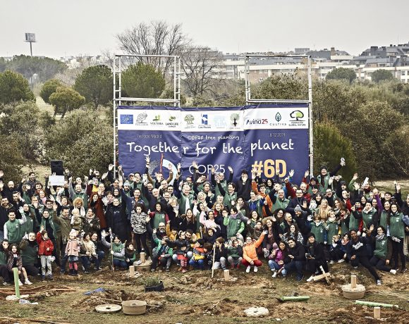 LIFE project The Green Link organized the successful #COP25 official planting event