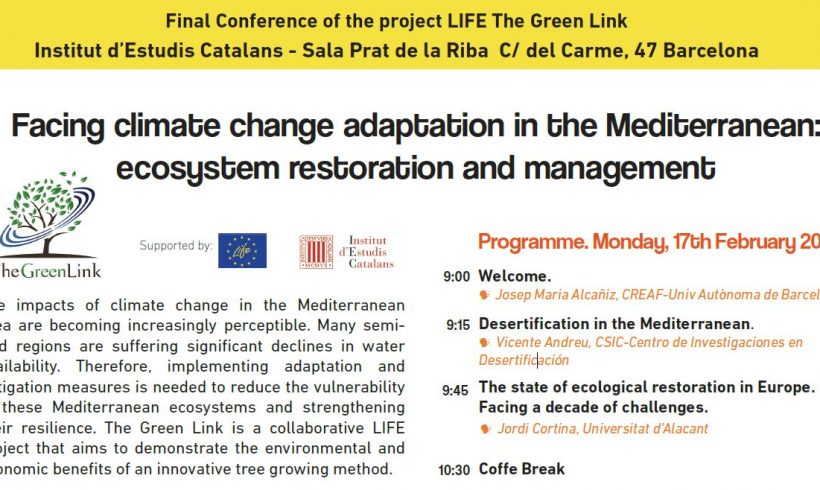 Final conference LIFE The Green Link in Barcelona