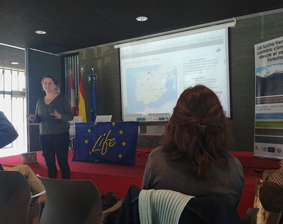 Networking con LIFE Forest CO2 durante jornada La Lucha Frente al Cambio Climático desde el Sector Forestal