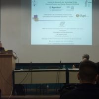 "The Green Link prοject at the Conference for Sustainable Agriculture ""Skills Alliance for Sustainable Agriculture – SAGRI"", Thessaloniki"