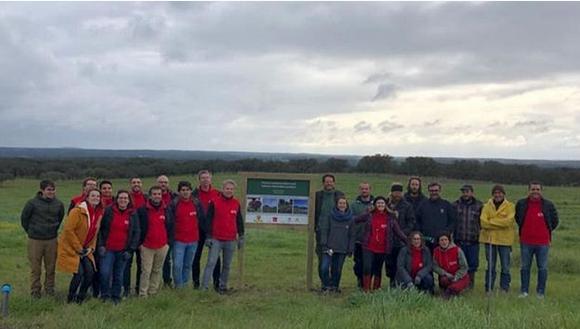 25ha de nueva agroforestería con Montado Freixo do Meio
