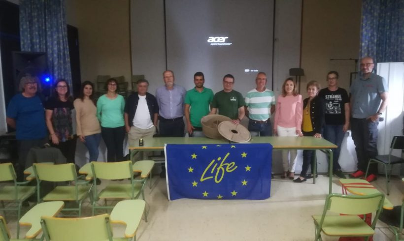 Awareness event to interest groups in La Aldea