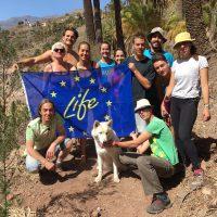 Replicación en Gran Canarias con la Asociación Cultural y ecologista IMIDAUEN