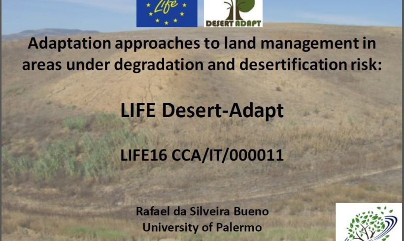 Networking with LIFE Desert-Adapt