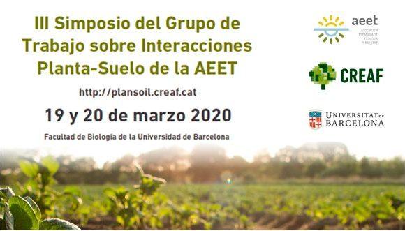 Green Link participa en el  III Simposio sobre Interacciones Planta-Suelo – Grupo de Trabajo PlanSoil (AEET)