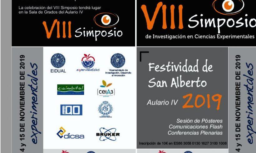 VIII Experimental Sciences Investigation Symposium