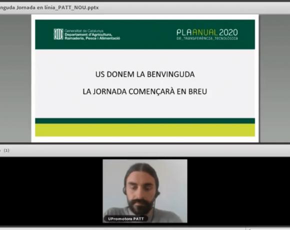 Jornada Técnica en línia sobre la Ecotecnología del Cocoon